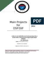 Ece Dsp Dip Main Project List