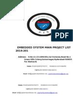Embedded b.tech