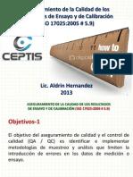 ACR Aplicacion ISO 17025 #5.9 2013-07-07