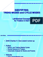 Trend mode & cycle modes