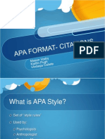 apa citation format