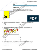 IMO (Math Olympiad) Sample Practice Paper for Class 4 by EduGain