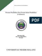 Peranan Pendidikan Non Formal Dalam Pendidikan Di Indonesia Revisi