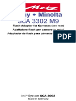 SCA 3302 M9 Sony Minolta GB