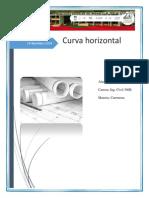 Cálculo Curva Horizontal