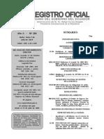 Resolucion Uaf Dg So 2014-001