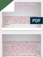 PRESNTACIONES DIGITALES