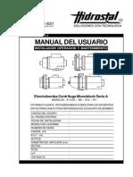 01-Electrobomba Centrifuga Monoblock Serie A