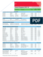 ELC Prices and Dates 2015 2016