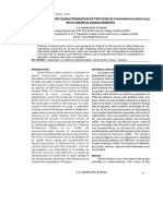 PREPARATION AND CHARACTERISATION OF TINCTURE OF SPHAERANTHUS INDICUS (L) BY CO-CHEMICAL CHARACTERISTICS