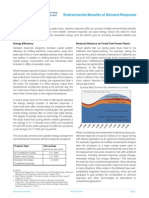 DR Fact Sheet 2 Environmental Benefits of Demand Response