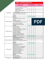 FORMATOS EVALUACIÓN INSTITUCIONAL 2014