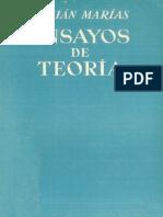 ENSAYOS DE TEORÍA. JULIÁN MARÍAS.pdf
