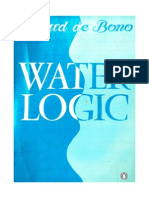 [Edward de Bono] Water Logic