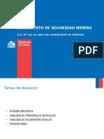 137995018 Decreto Supremo N 132 Reglamento de Seguridad Minera
