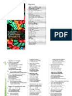 St. Jude Thaddeus Parish Choir Christmas Songbook (as of 2010-12-08)