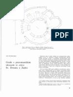 I. Petricioli - Grede s Preromaničkim Ukrasom Iz Crkve Sv. Donata u Zadru