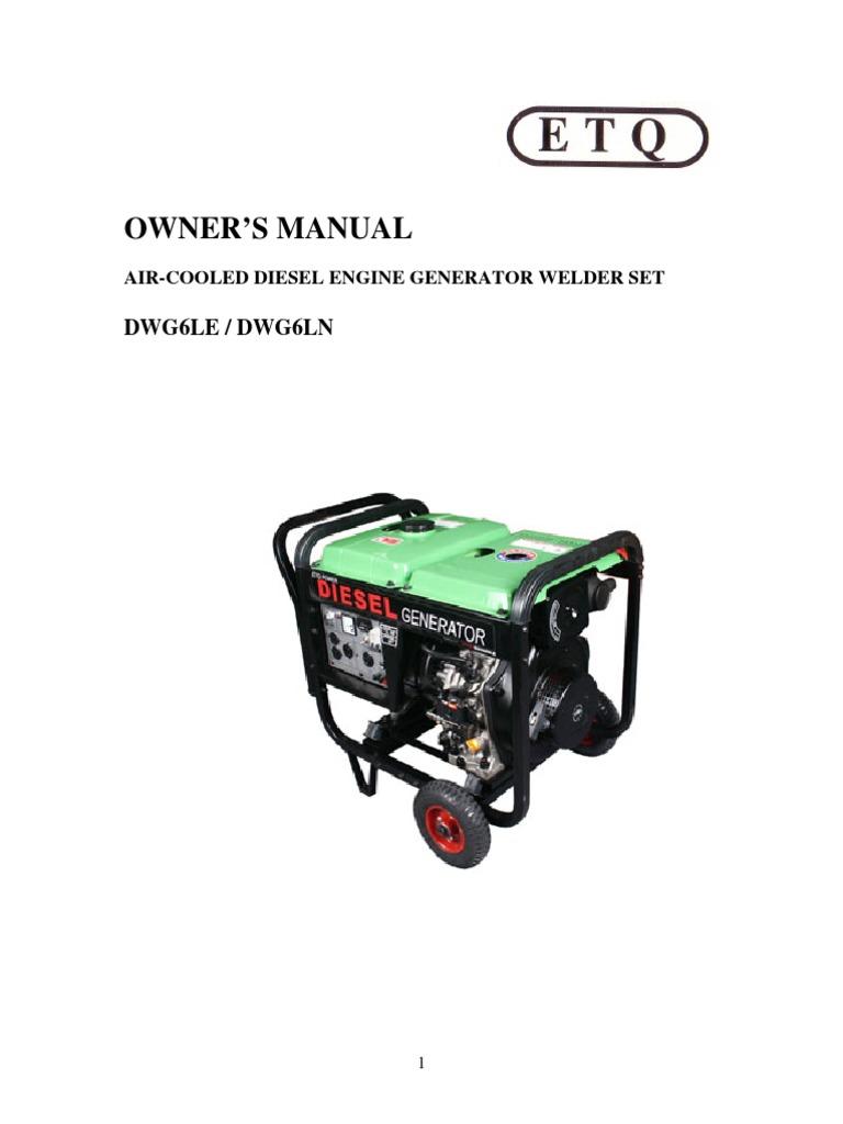 generator welder internal combustion engine diesel engine rh scribd com Generator Control Panel Wiring Diagram Generator Plug Wiring Diagram