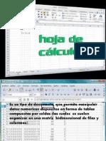 Hoja de Calculo Presentacion Digital