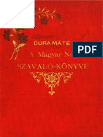 Dura Mate a Magyar Nep Szavalo Konyve