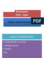 Nutrition Over View 1 FKG 2014