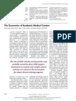 Economic of Academic Medical Centre