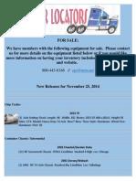 New Release - November 25, 2014