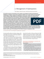 Clinical Guideline Management of Gastroparesis 2013 American Journal Gastroenterology