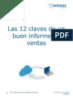 Las 12 Claves de Un Buen Informe de Ventas - Lantares