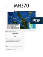 Disapearance of Mh370