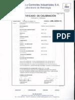 Certificados de Calibrcion