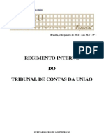 Regimento Interno TCU