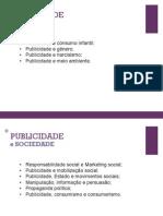 Temas Publicidade e Sociedade