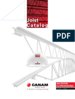 Canam Joist Catalog