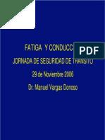 Fatiga y Conduccion