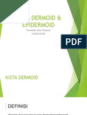 Kista Dermoid Epidermoid
