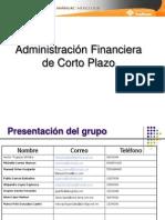 Administración Financiera de Corto Plazo Mayo_08 A