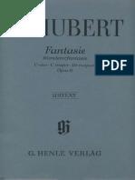 Schubert - Wandererfantasie (Ed. Henle Verlag)