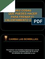 10cosasparaevitarcalentamientoglobal-090813155601-phpapp01