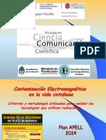 HUGO MARTIN ATOMICA CORDOBA CONFERENCIA RADIACIONES PLAN APELL 2014 RIO TERCERO