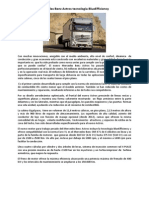 Nuevo Camión Mercedes Benz Actros Tecnología BlueEfficiency