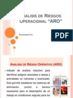 ARO Análisis de Riesgos Operacionales