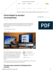 Cómo Limpiar Monitor LCD, LED o Plasma