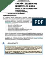 Afiche Renovación de Beneficios 2015