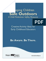 Keeping Children Safe Outdoors Activities