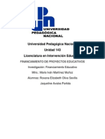 Financiamiento educativoo