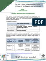 Actividad de Aprendizaje Unidad 1 documentacion