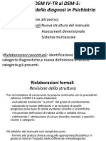 DSM v Differenze Con DSM IV