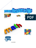 math activity file-m