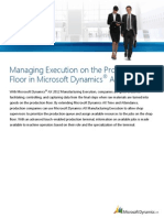 Manufacturing Execution Business Value